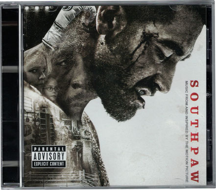 Southpaw Soundtrack - Eminem  - Shady Records - Universal Music - kulturmaterial - Cover Front