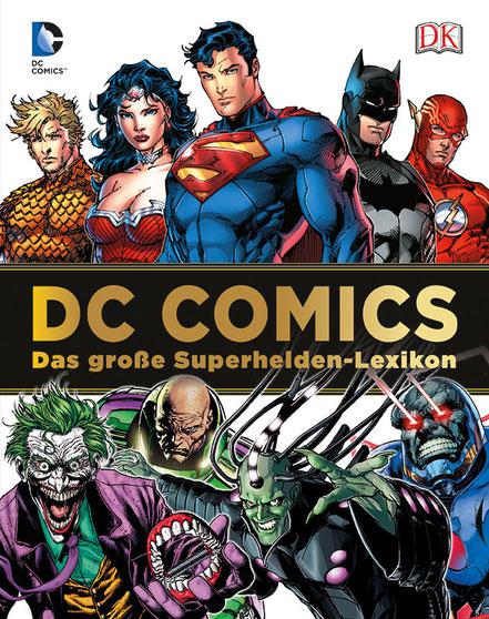 DC Comics Superhelden Lexikon - Dorling Kindersley - kulturmaterial