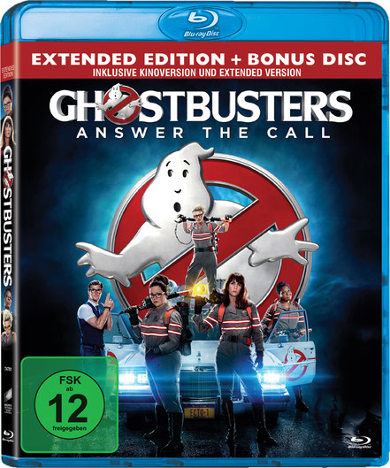 Ghostbusters Blu-ray - Sony - kulturmaterial - Gewinnspiel