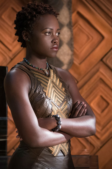 Black Panther Character Nakia - Lupita Nyong'o - Marvel - kulturmaterial