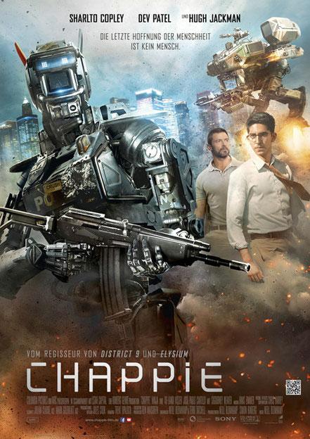 Chappie Film - Gewinnspiel - Sony - kulturmaterial