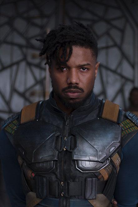 Black Panther Character Killmonger - Michael B. Jordan - Marvel - kulturmaterial