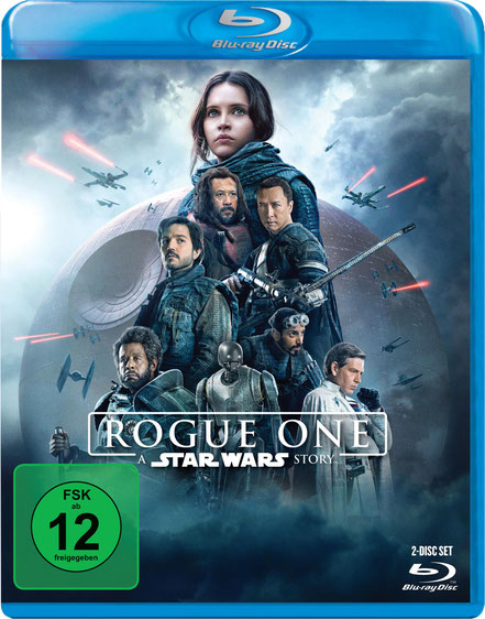 Rogue One A Star Wars Story Blu-ray - Lucasfilm - kulturmaterial