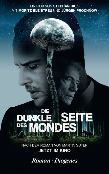 Martin Suter - Die dunkle Seite des Mondes - Diogenes Verlag - kulturmaterial - Film Cover