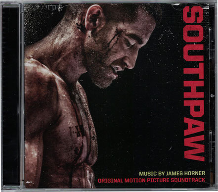 Southpaw Soundtrack - James Horner - Sony Classical - kulturmaterial - Cover Front
