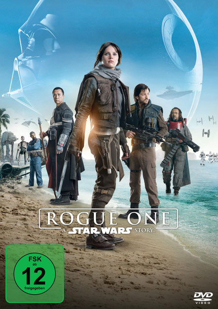 Rogue One A Star Wars Story DVD - Lucasfilm - kulturmaterial