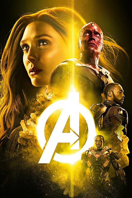 Avengers Infinity War - Elizabeth Olsen Wanda Maximoff Scarlet Witch - Marvel - kulturmaterial