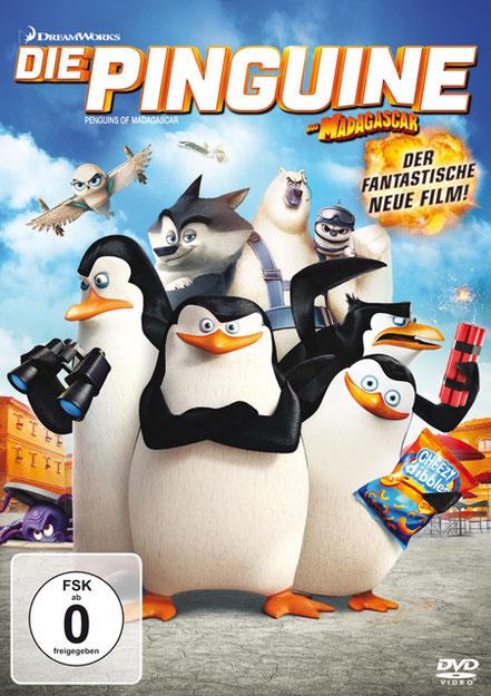Die Pinguine aus Madagascar - 20th Century Fox - kulturmaterial - DVD