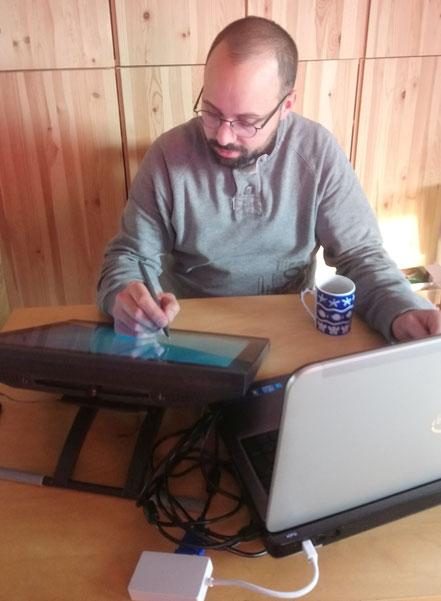Online-Lehre während der Corona-Pandemie