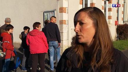 Reportage de TF1 sur la fermeture de classe de Pruniers-en-Sologne - 26 avril 2019