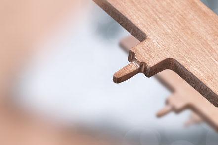 Ein stromführender Stecker