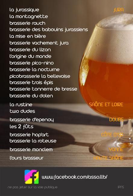 salon des petits brasseurs - bière artsianale - association llb - marché de producteurs - jura - lons le saunier