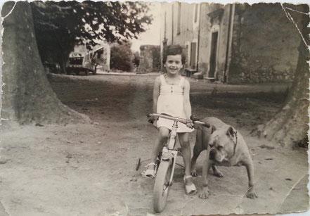 Christine MISTRAL et la maison BOUDIN (vers 1960)