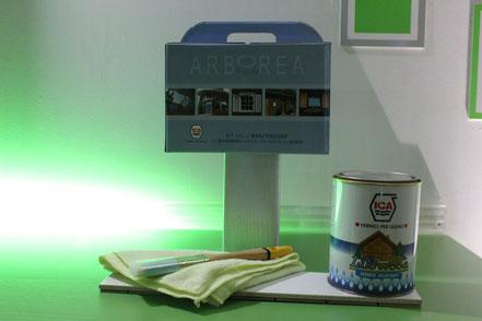 kit di pulizia per serramenti Arborea