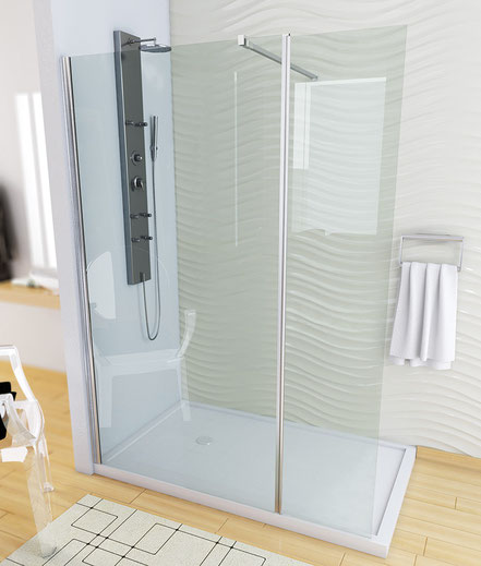 Mampatec persianas cristaler a mamparas mosquiteras murcia - Mamparas abatibles para ducha ...