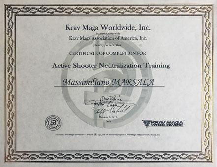 Active Shooter Krav Maga Worldwide Massimiliano Marsala