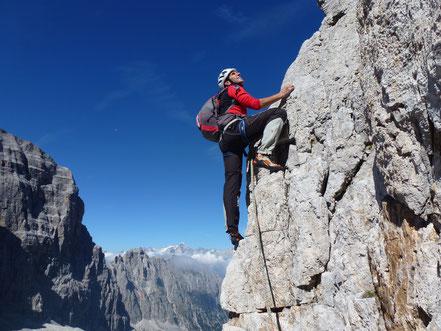 Corsi di arrampicata fdkm su roccia
