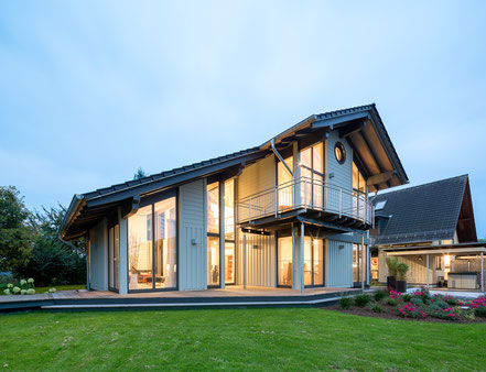 A luxurious flat pack eco home