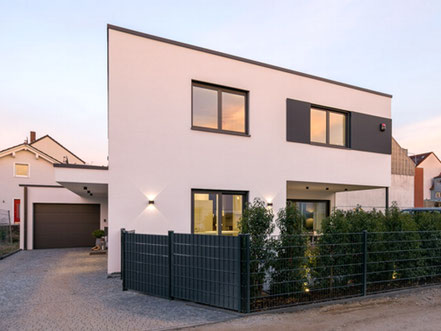 Contemporary 4 bedroom eco house - off-site manufactured in Germany - Bauhaus Style