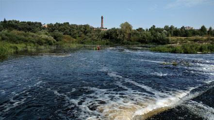 Верхняя плотина на Ловати