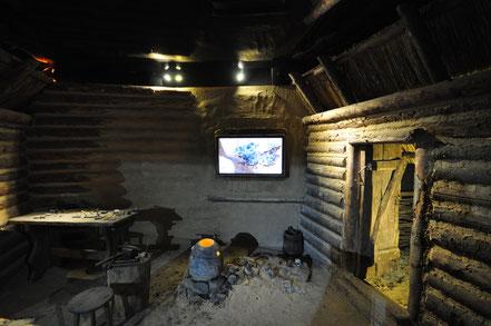 Sala de fundición que forma parte del actual museo