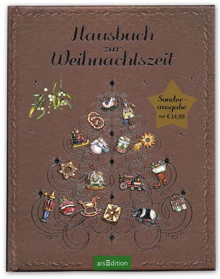 """Cover """"Hausbuch zur Weihnachtszeit"""" ars Edition"""