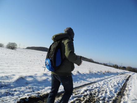 Winterwanderung der Gurken 2014