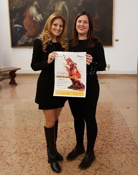 a sx Valentina Noce - a dx Alessandra Sguotti