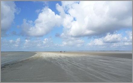 Meeresgrund trifft Horizont