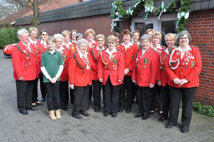 Jubiläumsfeier anlässlich des 40 jährigen Bestehens der Damenabteilung