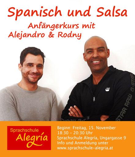 Spanisch und Salsa mit Alejandro und Rodny