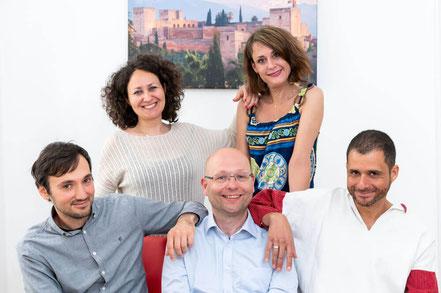 Das Trainer-Team der Sprachschule Alegría besteht aus universitär ausgebildeten Sprachtrainern.