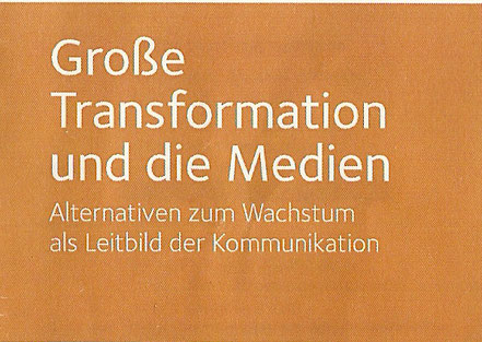 Transformation Nachhaltikeit Medien