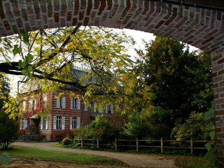 Château du Parc floral de Digeon - Parcs et Jardins de Picardie