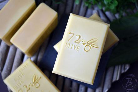 B.nature I Handgemachte Seife mit 72% Olivenöl