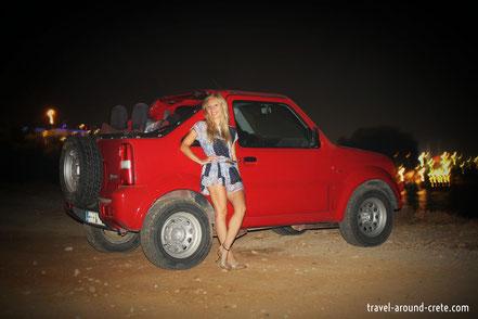 Suzuki Jimny, offroad, rent a car crete, car hire, SUV