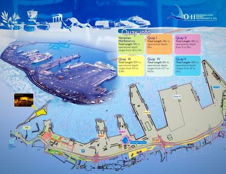 heraklion port, limani herakleion, iraklion port, hafen heraklion, irakleio hafen