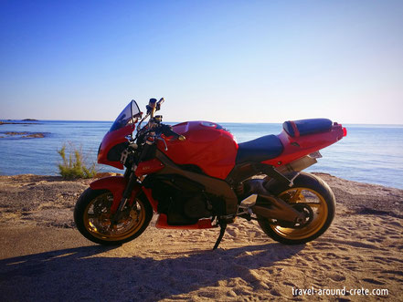 Motorbike rental crete, Bike hire crete, motorbike heraklion, Crete, rent a car,