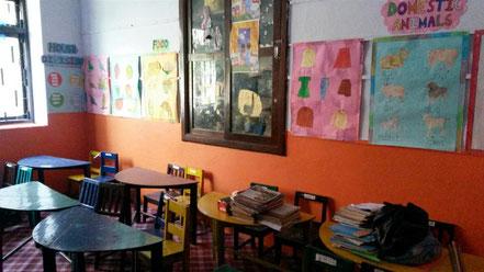 Einrichtung des Kindergartens
