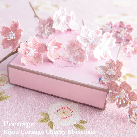 Bijou Corsage  Cherry Blossoms リントンツイード