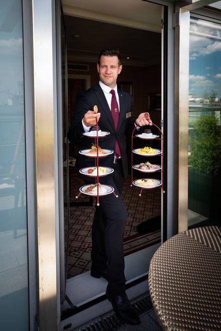 MAG Lifestyle Magazin online reisen Urlaub travel Österreich Wien Hotel Sacher Luxus Leading Hotels of the World Séparée Restaurant Separees Pop-up-Restaurants nobles Ambiente Butler