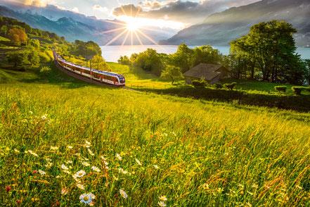 MAG Lifestyle Magazin Urlaub Reisen Schweiz virtuell Grand Train Tour Glacier Express Grand Tour Cabrio