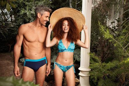 MAG Lifestyle Magazin Mode Sommermode Strand Strandmode Palmers Beachwear stylishe Bikinis Badesaison 2020