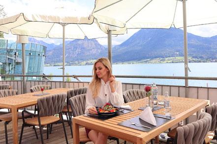 MAG Lifestyle Magazin online reisen Urlaub travel Österreich Luxus Wolfgangsee Salzkammergut event resort scalaria sunset wing Deluxe-Zimmer