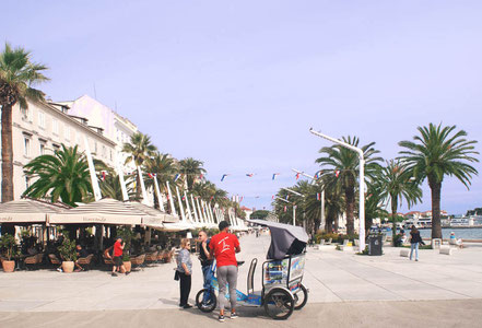 MAG Lifestyle Magazin Urlaub Reisen Kroatien Split Hafenstadt Dalmatien Altstadt Diokletian Palast Diokletianpalast Sightseeing
