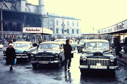 MAG Lifestyle Magazin Reisen Urlaub Bahnreisen Istanbul Dolmus 80er Jahre vor  Corona Coronakrise