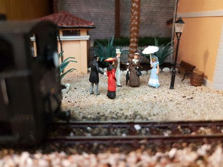 MAG Lifestyle Magazin Modellbahn Modellbahnen Traumorte Berge Meer verreisen Gedanken Vitrinen Modellbahndioramen Dioramen Fahrbetrieb Diorama Localbahn Triest Parenzo kkStb