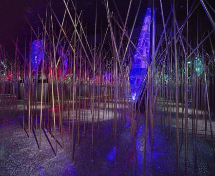 MAG Lifestyle Magazin Urlaub Reisen Österreich Tirol Swarowski Kristallwelten Wattens Tirol Wunderkammer Garten Veranstaltungen Kristall