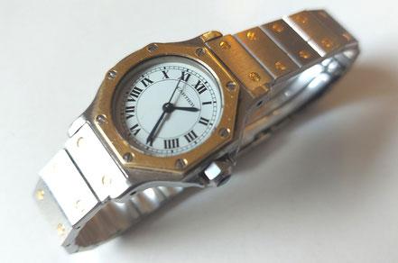 MAG Lifestyle Magazin online Le Must de Cartiere Santos Uhren Armbanduhren Stahl Gold