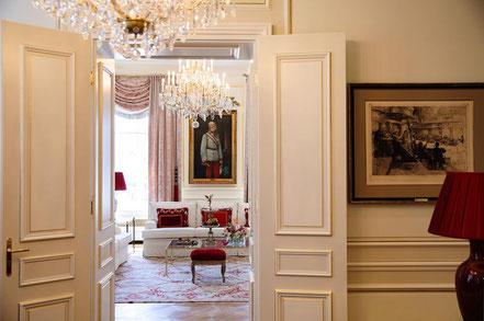 MAG Lifestyle Magazin online reisen Urlaub travel Österreich Wien Hotel Sacher Luxus original Sachertorte Tafelspitz  Restaurants To Go Leading Hotels of the World